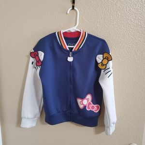 Hello Kitty 3D Girls Jacket size 6 🎀 🎉HP🎉
